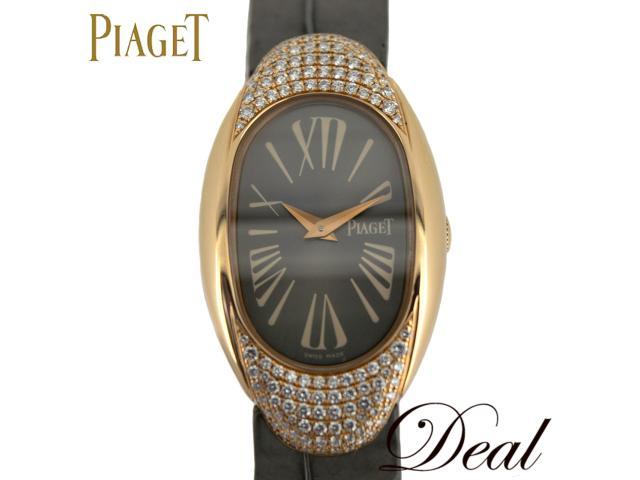 PG製 PIAGET ピアジェ ライムライト P10173 ベゼルダイヤ レディース 腕時計
