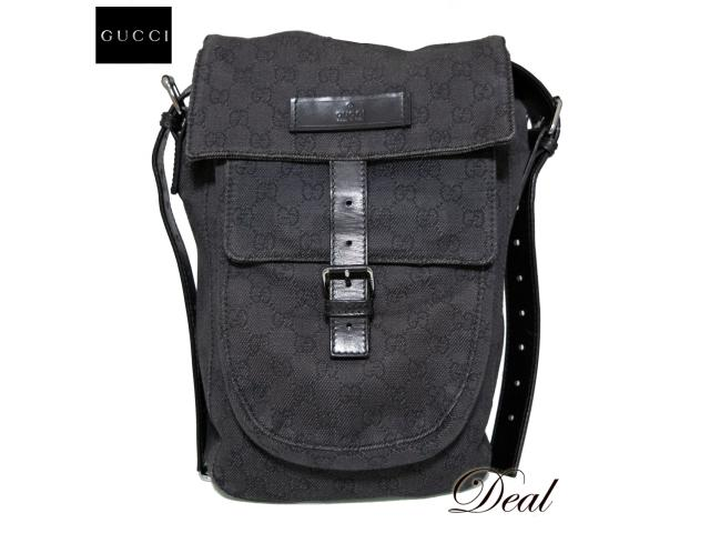 newest 4a3c6 cfb36 GUCCI グッチ GGキャンバス ショルダー バッグ GGキャンバス 鞄 ...