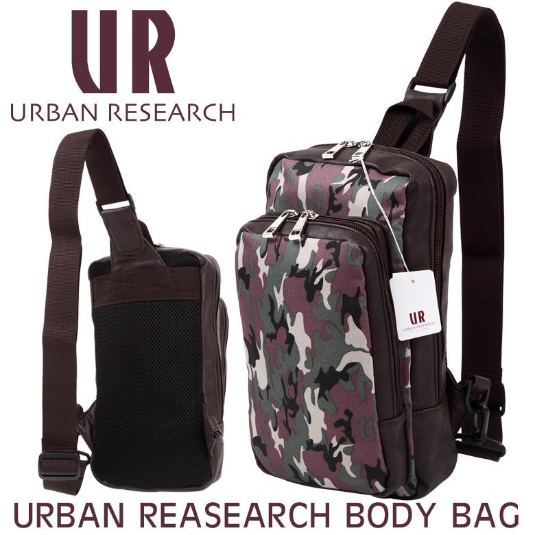 URBAN REASEARCH アーバンリサーチ バッグ ボディバッグ メンズ ウエストポーチ ショルダーバッグ TT-UR75B 【あす楽/即納】【楽ギフ_包装選択】