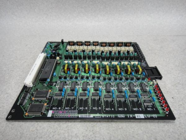 【中古】IX-8LLU-(1)NTT αIX/IX2長距離単体電話機ユニット【ビジネスホン 業務用 電話機 本体】
