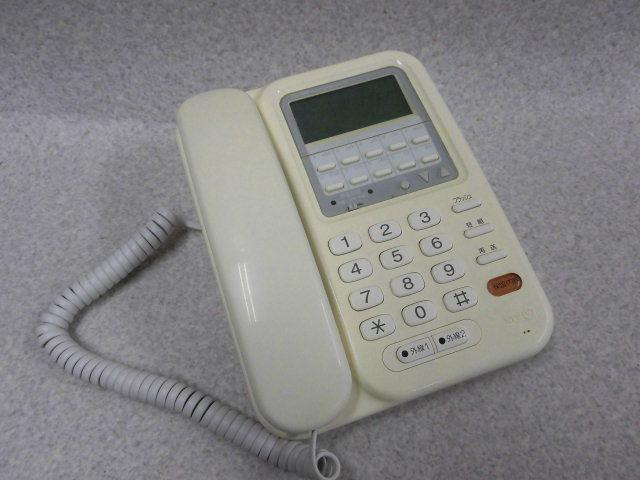 【中古】VX-TEL(PF2)(FW)NTT レカム・ホームテレホン VX 停電電話機【ビジネスホン 業務用 電話機 本体】