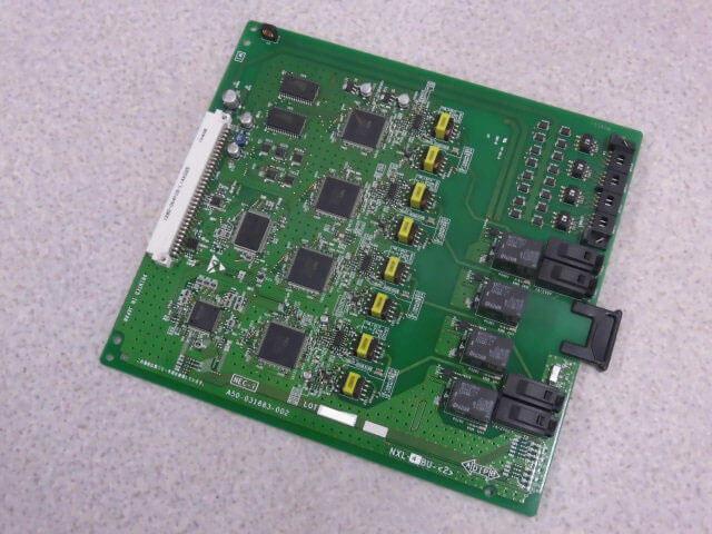 【中古】NXL-4BU-(2) NTT αNX-L 4バス多機能電話機ユニット【ビジネスホン 業務用】