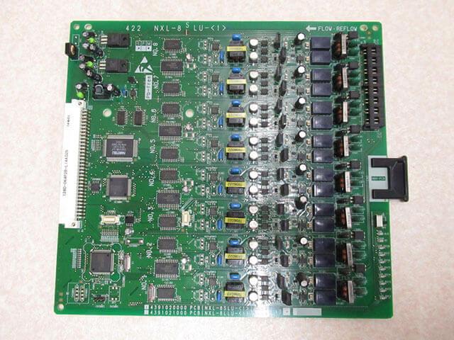 【中古】NXL-8SLU-(1)NTT αNX-L 8単体電話機ユニット【ビジネスホン 業務用】