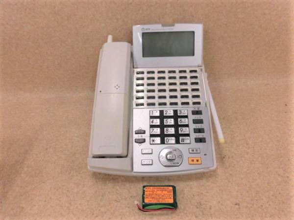 【中古】NX-(36)CCLBTEL-(1)(W) NTT αNX 36ボタンカールコードレスバス電話機【ビジネスホン 業務用 電話機 本体 子機】