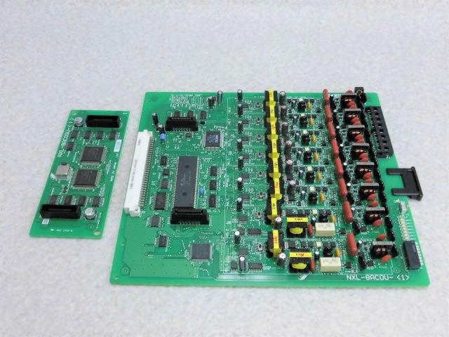 NXL-8ACOU- 1 + NXL-8ACOSU- 日本正規代理店品 NTTαNX-L 8アナログ外線ユニット 業務用 中古ビジネスホン 中古ビジネスフォン 8アナログ外線サブユニット 公式ストア ビジネスホン 中古