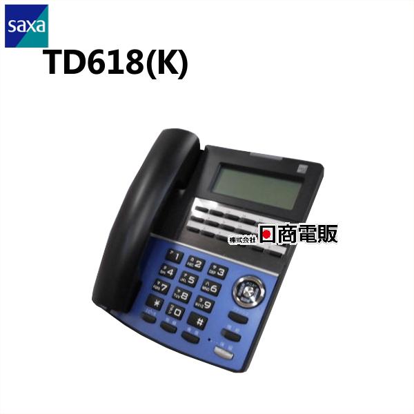 【中古】TD618(K)SAXA AGREA218ボタン多機能電話機【ビジネスホン 業務用 電話機 本体】