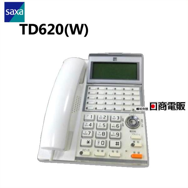 TD620 W 店 SAXA サクサUT700用30ボタン多機能電話機 中古ビジネスホン 中古ビジネスフォン 本体 受賞店 業務用 電話機 ビジネスホン 中古
