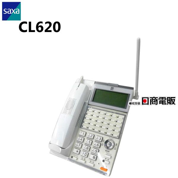【中古】SAXA/サクサ UT700用CL620 30ボタンカールコードレス電話機【ビジネスホン 業務用 電話機 本体 子機】