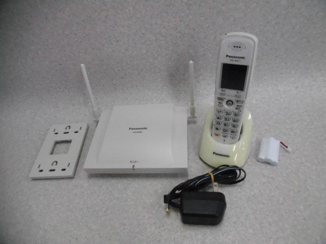 【中古】VB-W411 + VB-W460Panasonic/パナソニック La Relier/ラ・ルリエ2.4Gカラーデジタルコードレス電話機セット【ビジネスホン 業務用 電話機 本体 子機】