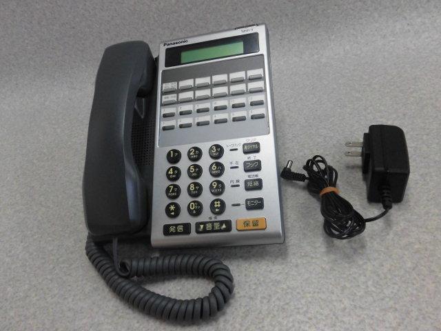 【中古】【アダプタあり】VB-E411DE-KS+VB-D7651Panasonic/パナソニック Acsol Telsh-V12キーIP電話機D【ビジネスホン 業務用 電話機 本体】