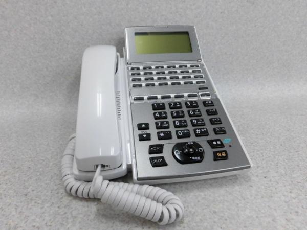 【中古】NTT NX2 NX2-(24)RECBTEL-(1)(W) 24ボタン録音バス電話機【ビジネスホン 業務用 電話機 本体】