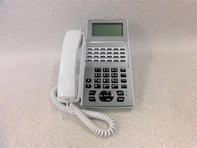 【中古】NX2-(24)IPFSTEL-(1)(W)NTT αNX2スター24ボタンISDN停電用電話機【ビジネスホン 業務用 電話機 本体 子機】