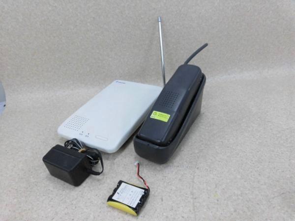 【中古】PV824 WS TAMURA/タムラ PV824 アナログコードレス電話機【ビジネスホン 業務用 電話機 本体 子機】