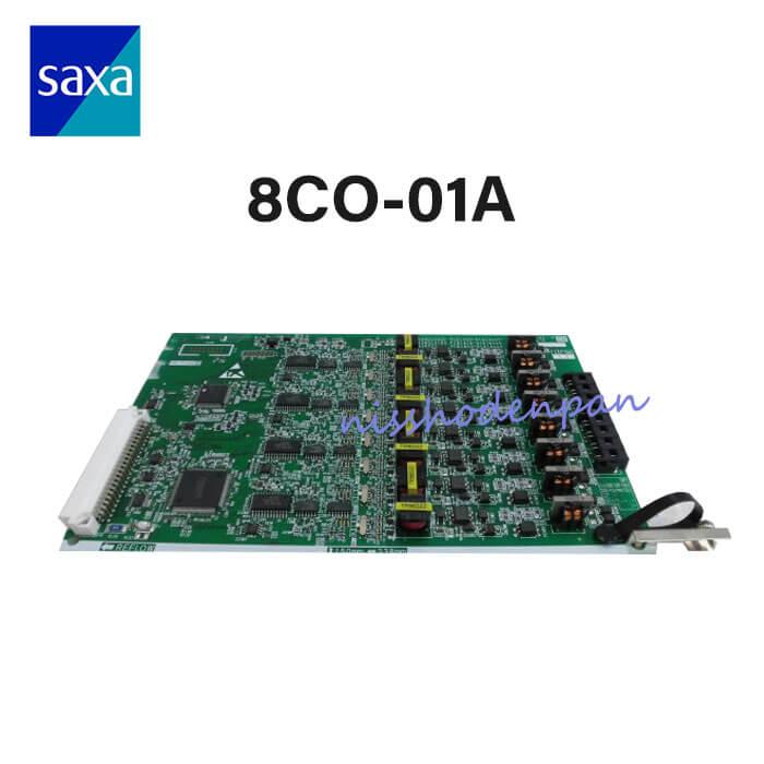 【中古】8CO-01A SAXA PT1000(Pro/Ult) 8アナログ局線ユニット(Croscore, IPOffice=ML対応)【ビジネスホン 業務用】
