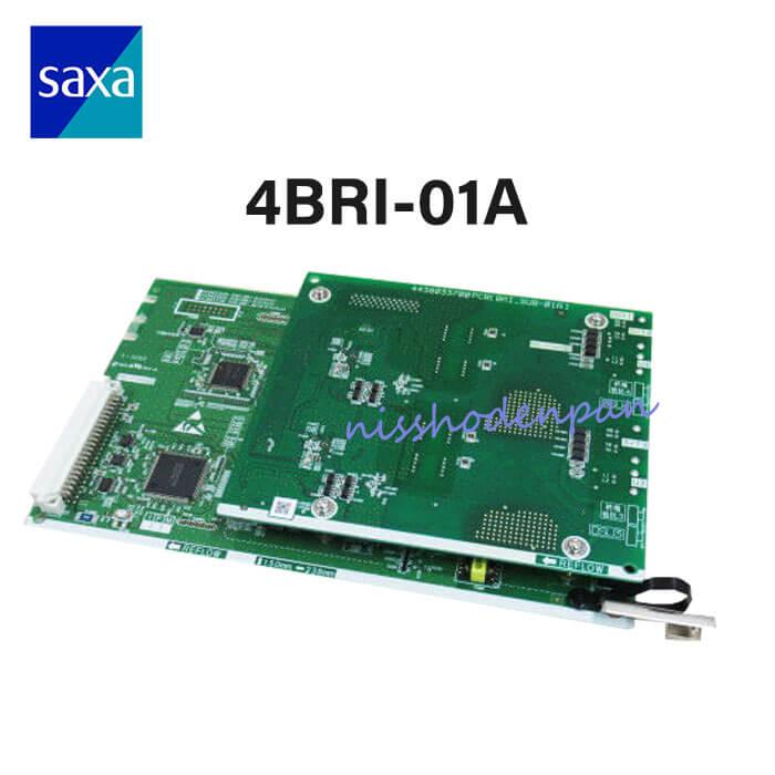 【中古】4BRI-01A (4YB1261-1015P001)<BR>SAXA/サクサ PT1000(Pro/Ult)<BR>4デジタル局線ユニット<BR>【ビジネスホン 業務用】
