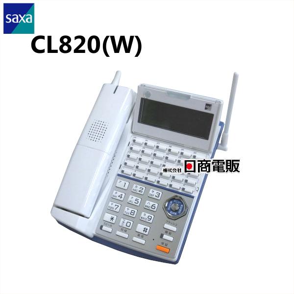 【中古】CL820SAXA/サクサ PLATIA PT1000コードレス電話機【ビジネスホン 業務用 電話機 本体 子機】