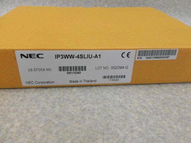 【新品】IP3WW-4SLIU-A1 NEC Aspire X4回線SLI内線ユニット【ビジネスホン 業務用】
