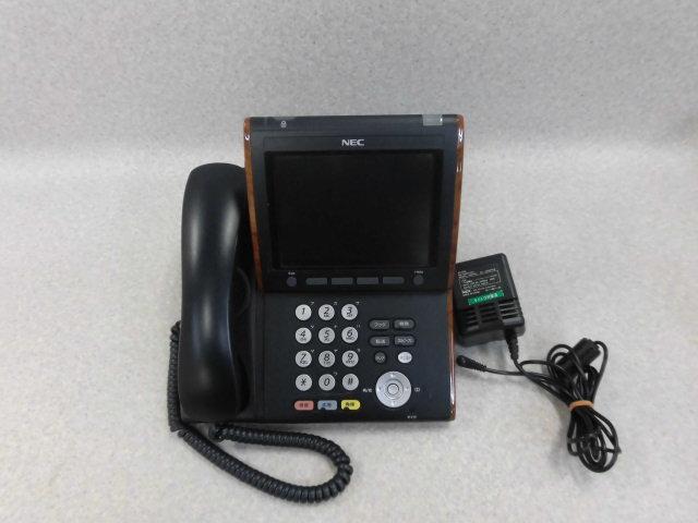 【中古】ITL-320C-1D(BK)TEL NEC ApireX DT700IP大型LCD受付電話機【ビジネスホン 業務用 電話機 本体】