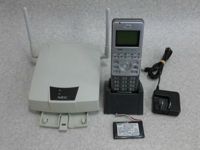 【中古】IP3D-8PS+IP1D-CS-SNEC AspireS/X/M/UXシングルゾーンデジタルコードレス+ コードレスアンテナ【ビジネスホン 業務用 電話機 本体 子機】
