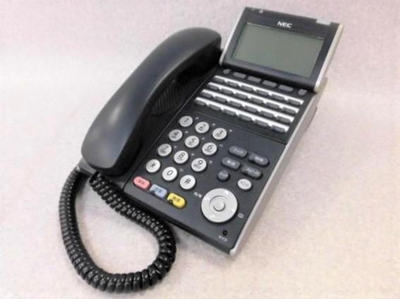 【中古】【アダプタなし】ITL-24D-1D(BK)TELNEC Apire X 24ボタンIP多機能電話機【ビジネスホン 業務用 電話機 本体】