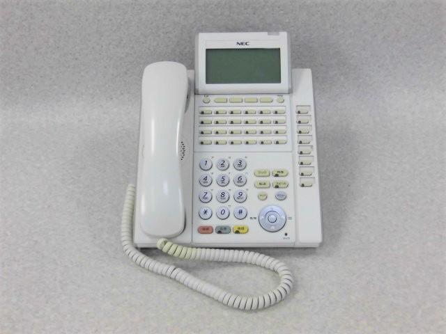 【中古】【ボタン日焼け】DTL-32D-1D(WH)TEL NEC Aspire X 32ボタン 多機能電話機【ビジネスホン 業務用 電話機 本体】