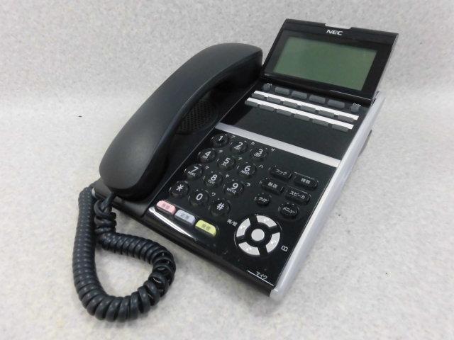 【中古】DTL-12D-2D(BK)TELNEC AspireX DT300シリーズ12ボタン多機能電話機 おしゃれ【ビジネスホン 業務用 電話機 本体】