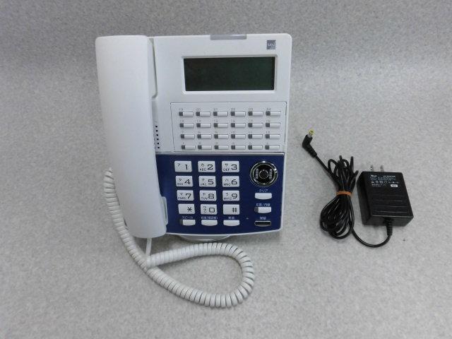 【中古】【アダプタあり】NP320(W)(F)SAXA/サクサ IP NetPhone SXll IP電話機【ビジネスホン 業務用 電話機 本体】
