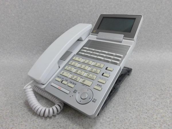 【中古】NYC-18iE-SD(W)2ナカヨ/NAKAYO iE18ボタン電話機【ビジネスホン 業務用 電話機 本体】