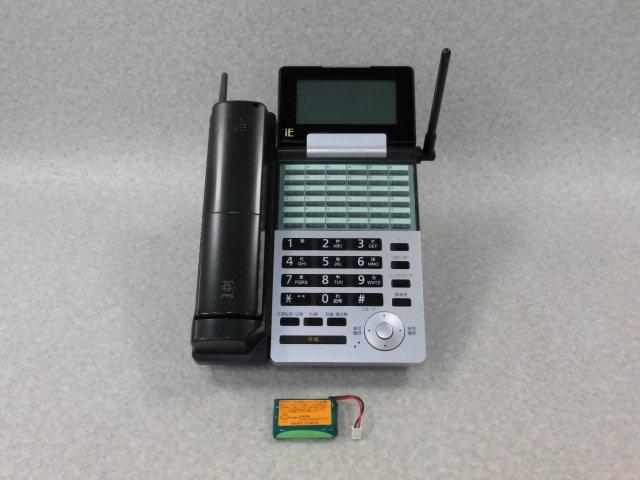 【中古】NYC-36iE-DHCL(B) ナカヨ/NAKAYO integral-E 36ボタン ハンドルコードレス電話機【ビジネスホン 業務用 電話機 本体 子機】
