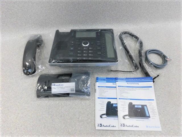 【中古】440HD IP PhoneAudio Codes IP電話機【ビジネスホン 業務用 電話機 本体】