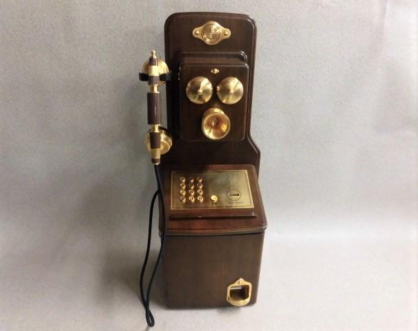 【中古】KT4-FN電話機 浪漫電話 アンティーク日本通信機器株式会社【ビジネスホン 業務用 電話機 本体 骨董】