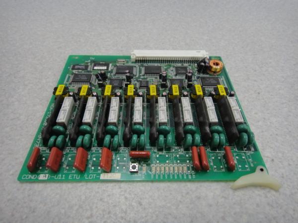 【中古】COND(8)-U11 ETUNEC SOLUTE POPURECONDユニット(8L)【ビジネスホン 業務用 ユニット】