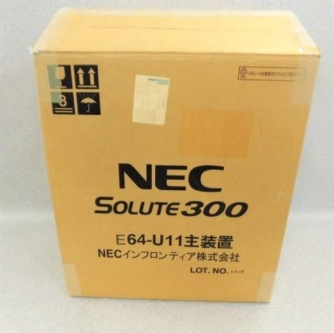 【新品】E64-U11 主装置NEC SOLUTE 300増設主装置【ビジネスホン 業務用 ユニット】