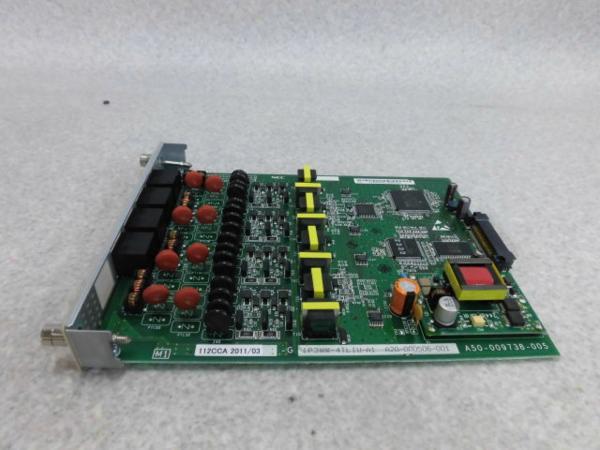 【中古】IP3WW-4TLIU-A1 NEC AspireX 4OD専用線(市外専用線)ユニット【ビジネスホン 業務用】