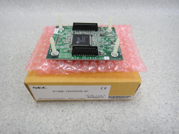【未使用品】IP1WW-16VOIPDB-B1 NEC AspireM 16chVOIP増設ユニット【ビジネスホン 業務用 ユニット】