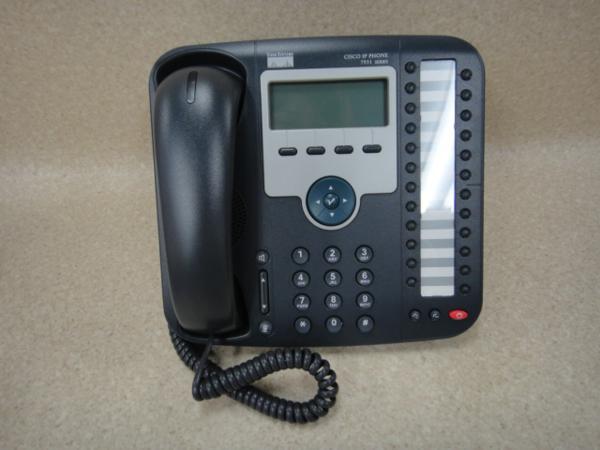 【中古】 シスコ Cisco Unified CP-7931G IP Phone IP電話機【ビジネスホン 業務用 電話機 本体】