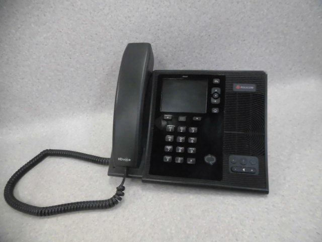 CX600POLYCOM ポリコムIPデスクトップ電話機 中古ビジネスホン 中古ビジネスフォン 中古 当店限定販売 本体 年間定番 業務用 ビジネスホン 電話機