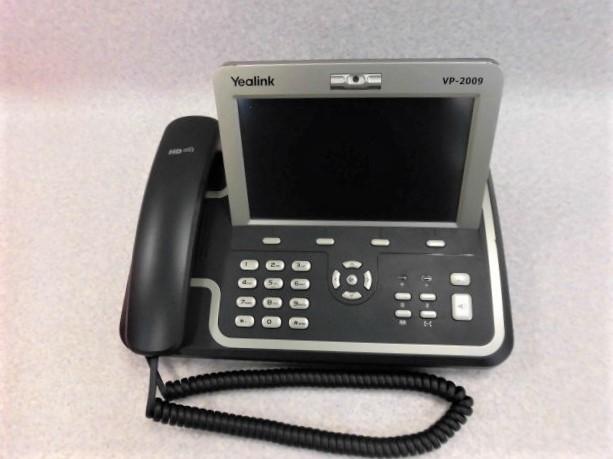 【中古】VP-2009PYealink SIP対応 IP電話機 【ビジネスホン 業務用 電話機 本体】