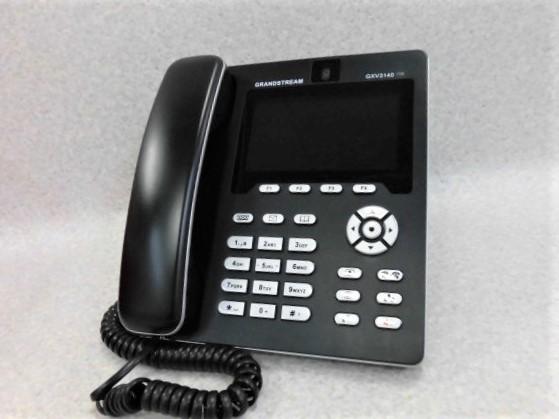 【中古】GXV3140GRANDSTREAM SIP対応IPテレビ電話機【ビジネスホン 業務用 電話機 本体】