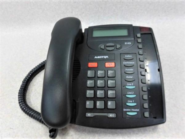 【中古】9143iアストラ/AastraIP Phone IP電話機【ビジネスホン 電話機 本体】