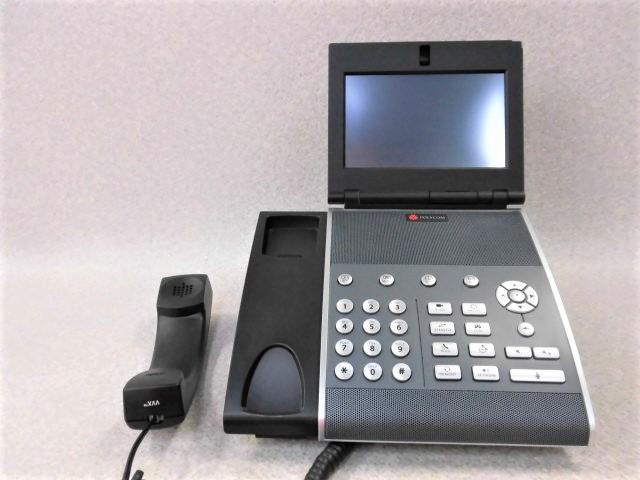 【中古】POLYCOM/ポリコム VVX 1500ビジネスメディアフォン 【ビジネスホン 業務用 電話機 本体】