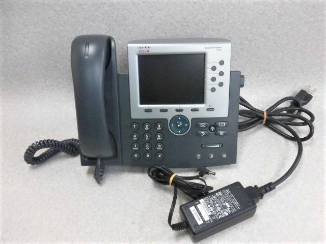 【中古】CP-7965Gシスコ/Cisco IP Phone7965シリーズ【ビジネスホン 業務用 電話機 本体】