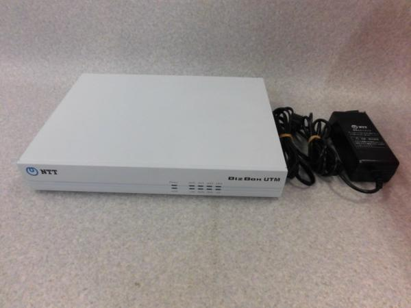 【中古】Biz Box UTM (SSB)(10)NTT 統合脅威管理(10クライアント用情報機器)【ビジネスホン 業務用 電話機 本体】