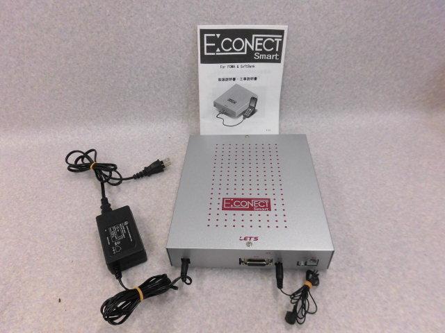 【中古】E:CONECT SmartLET'S (株)レッツコーポレーション 通話料金削減装置【ビジネスホン 業務用 電話機 本体】