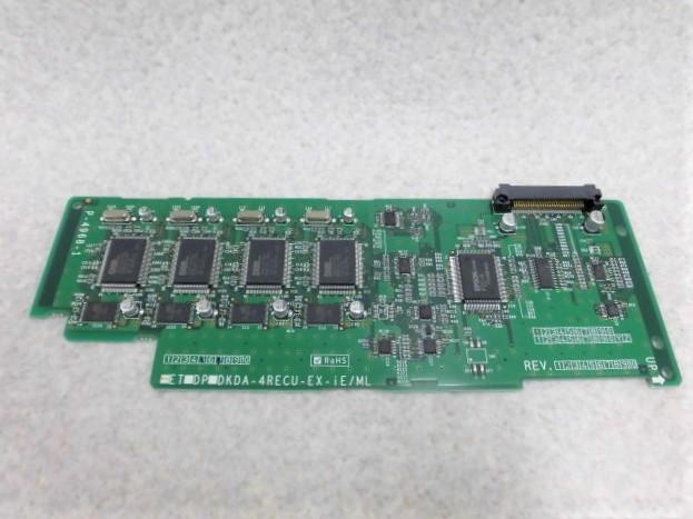 【中古】ET-4RECU-EX-iE/ML日立/HITACHI integral-E4回路増設留守録ユニット【ビジネスホン 業務用 電話機】