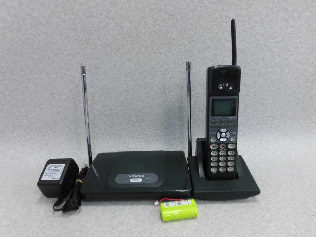 【中古】ET-8iA-CLS 黒日立/HITACHI iAアナログコードレス【ビジネスホン 業務用 電話機 本体 子機】
