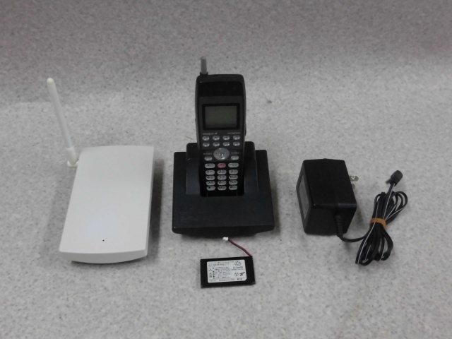 【中古】ET-8iA-DCLS 黒日立/HITACHI integral-Aデジタルコードレス電話機【ビジネスホン 業務用 電話機 本体 子機】