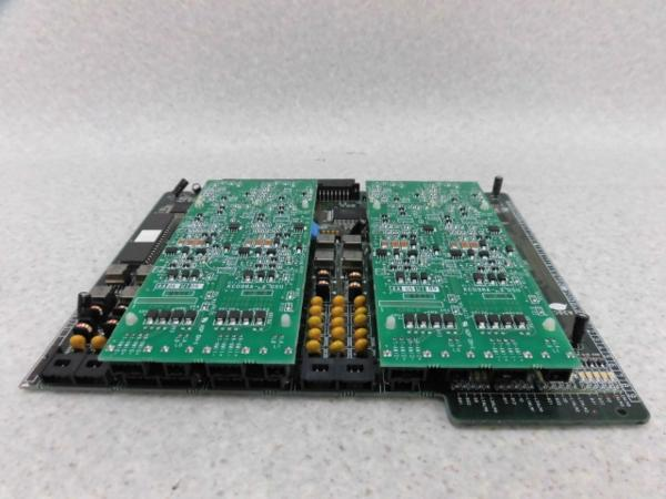 【中古】BX5200-4BRIT + KC098A-2DSU(2枚)沖/OKI IPstage MXISDN4回線ユニット+ISDN2回線U点ユニット【ビジネスホン 業務用 電話機 本体】