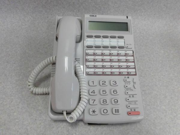 DI2127 MKTE-24DHF形OKI 祝開店大放出セール開催中 新品未使用 IPstage24回線用ディスプレイ付ハンズフリー電話機 中古ビジネスホン 中古ビジネスフォン 中古 ビジネスホン 本体 電話機 業務用