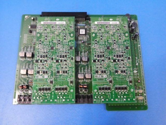 【中古】BX060-4BRIT-G + KC098A-2DSU-2B(×2)沖/OKI IPstage MX4デジタル局線ユニット + 2DSUユニット【ビジネスホン 業務用】